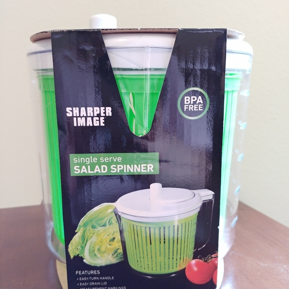 Sharper Image Single Serve Salad Spinner